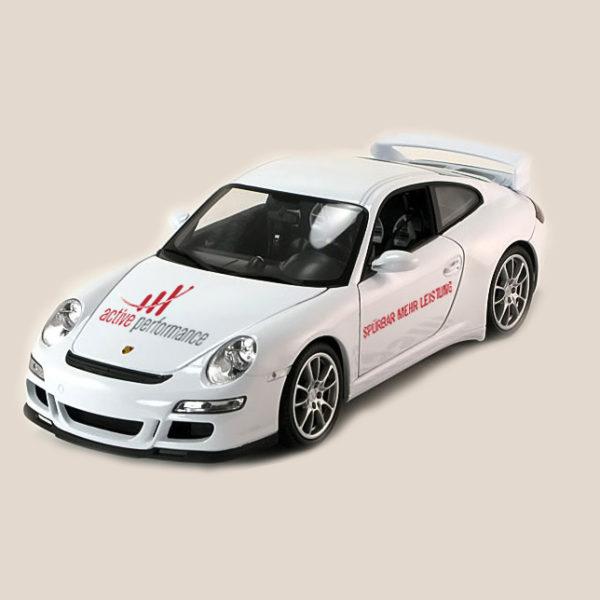 Porsche in Weiß