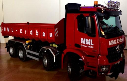Löffelberger-Container-LKW